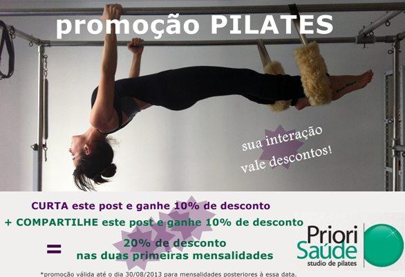 Ganhe saúde: aproveite descontos na Priori para praticar Pilates