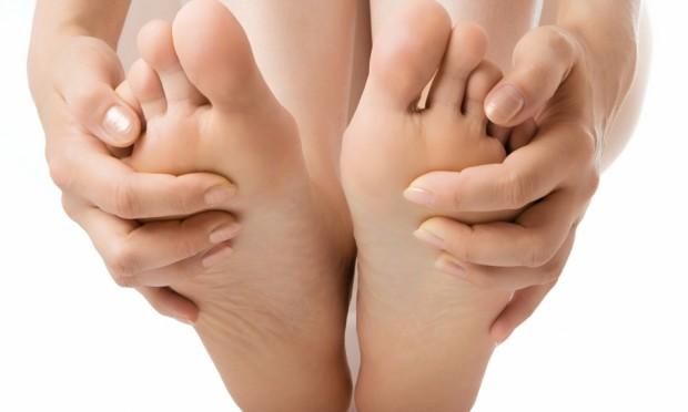 Os pés determinam sua postura