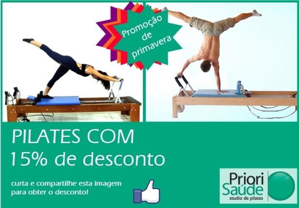 Comece Pilates com descontos na Priori Saúde